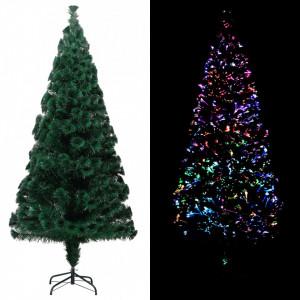 Brad de Crăciun artificial cu suport, verde, 240 cm, PVC