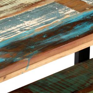 Comodă TV, 130 x 40 x 40 cm, lemn masiv reciclat