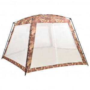 Cort de piscină, camuflaj, 660x580x250 cm, material textil