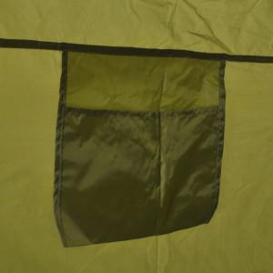 Cort pentru duș/toaletă/dressing, verde