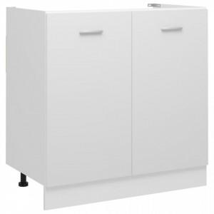 Dulap inferior de chiuvetă, alb, 80 x 46 x 81,5 cm, PAL