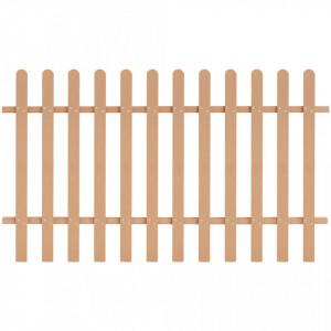 Gard din șipci, 200 x 120 cm, WPC