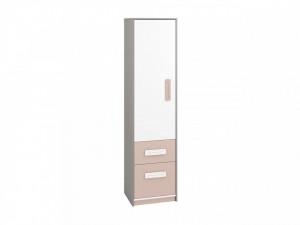 Iq 05 (Bibliotecă) Grey Platinum/White/Bright Pink