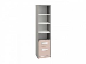 Iq 06 (Bibliotecă) Grey Platinum/White/Bright Pink