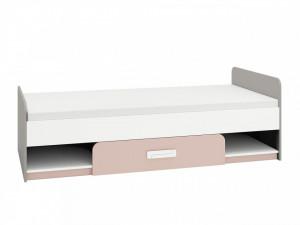 Iq 12 (Rama de pat) Grey Platinum/White/Bright Pink
