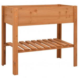 Jardinieră, 88x43x80 cm, lemn de brad