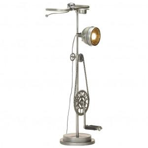 Lampă de perete, aspect de bicicletă, fier