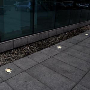 Lămpi de sol pentru exterior, 12 buc., rotund (4x40393)