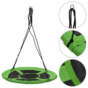 Leagăn, verde, 110 cm, 100 kg