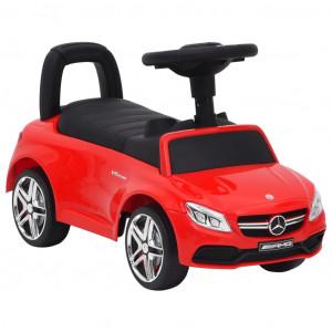 Mașinuță pentru pași Mercedes-Benz C63, roșu