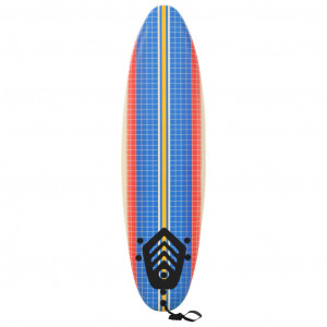 Placă de surf, 170 cm, model mozaic