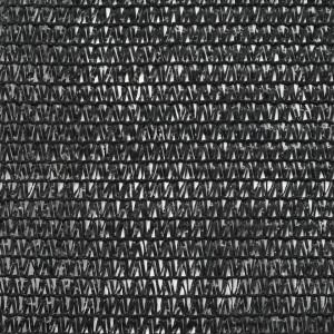 Plasă teren de tenis, negru, 1,2 x 25 m, HDPE