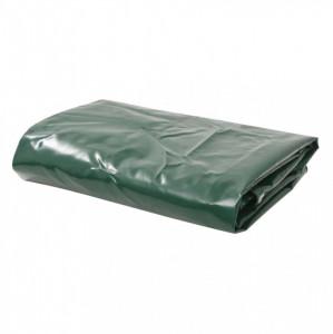 Prelată, verde, 3,5 x 5 m, 650 g/m²