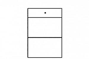 Selene 19 (cabinet) white high gloss/white