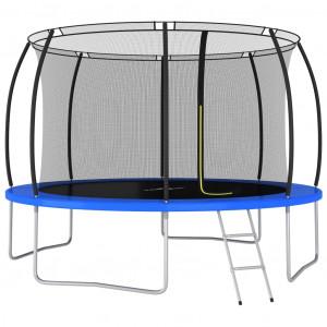 Set trambulină rotundă, 366 x 80 cm, 150 kg