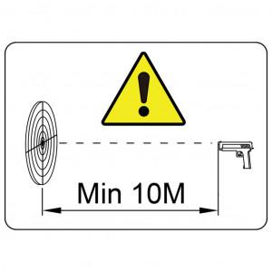 Țintă tir spinner resetare automată cu 4 + 1 ținte