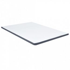 Topper saltea de pat cu somieră, 200x140x5 cm
