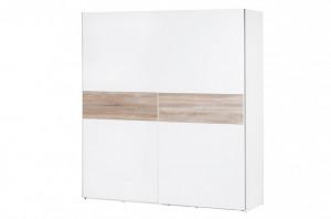 Wenecja 01 (dulap 2d) white/sonom oak&