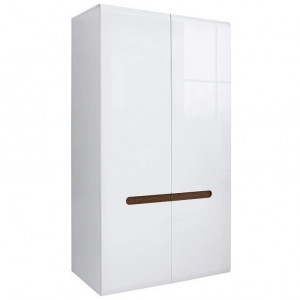 Azteca 017 dulap szf2d/21/11 white/white high gloss