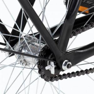 Bicicletă olandeză, roată de 28 inci, cadru feminin 57 cm