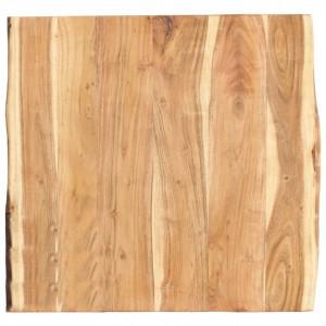 Blat de masă, 60x(50-60)x3,8 cm, lemn masiv de acacia