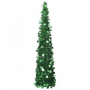 Brad de Crăciun artificial tip pop-up, verde, 180 cm, PET