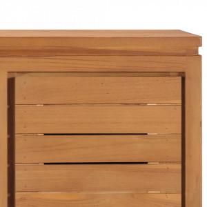 Comodă TV, 110 x 30 x 40 cm, lemn masiv de tec