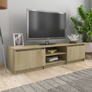 Comodă TV, stejar Sonoma, 140 x 40 x 35,5 cm, PAL