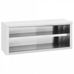 Dulap de bucătărie suspendat, 120x40x50 cm, oțel inoxidabil