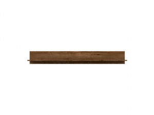 ERIKA 002 SHELF POL/149 OAK texas/BRIGHT GREY
