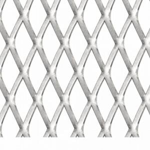 Gard de sârmă grădină, 50x50 cm, 45x20x4 mm, oțel inoxidabil