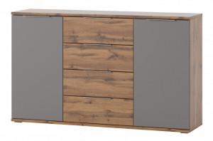 Livorno 45 comoda oak wotan/bazaltowo-grey