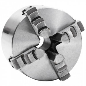 Mandrină de strung cu 4 fălci, 100 mm, oțel