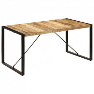 Masă de bucătărie, 160x80x75 cm, lemn masiv de mango