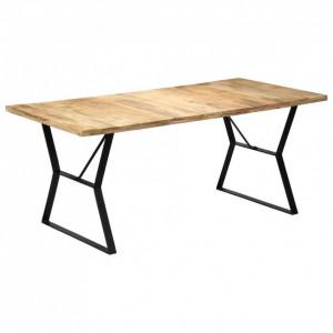 Masă de bucătărie, 180 x 90 x 76 cm, lemn masiv de mango