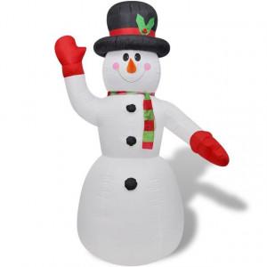 Om de zăpadă gonflabil 240 cm