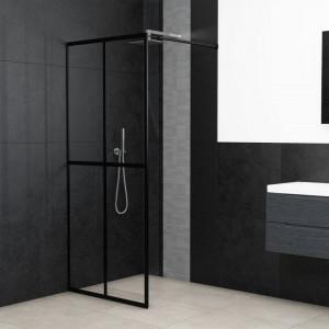 Paravan de duș walk-in, 90 x 195 cm, sticlă securizată