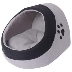 Pătuț pentru pisici M, gri și negru