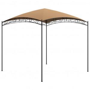 Pavilion, gri taupe, 3 x 3 x 2,65 m, 180 g/m²