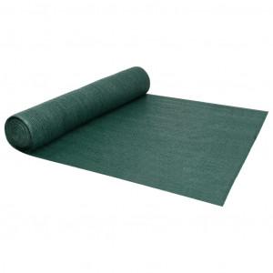 Plasă protecție intimitate, verde, 3,6x50 m, HDPE, 195 g/m²