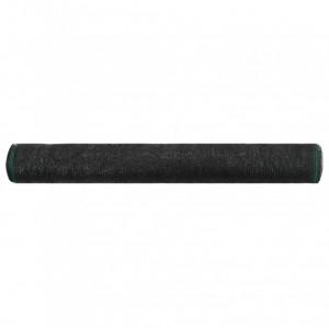 Plasă teren de tenis, negru, 1,4 x 50 m, HDPE