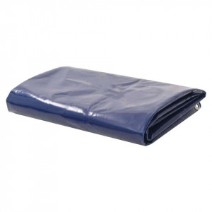 Prelată, albastru, 1,5 x 6 m, 650 g / m²