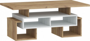 RIO COFFEE TABLE S RIO-12 CRAFT WHITE/CRAFT GOLDEN