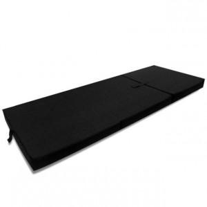 Saltea din spumă, pliabilă, 190 x 70 x 9 cm negru