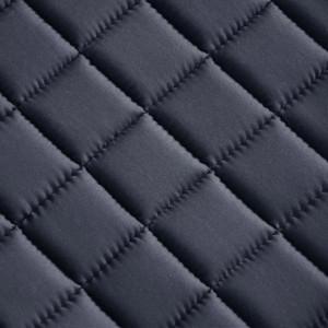 Set echitație 5-in-1 cu șa 40,5 cm din piele naturală, Negru