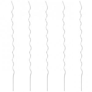Spirale pentru suport plante, 5 buc., 110 cm, oțel galvanizat