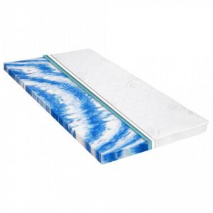 Topper saltea, 80 x 200 cm, spumă gel, 7 cm