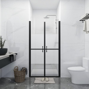 Ușă cabină de duș, jumătate mată, (98-101)x190 cm, ESG