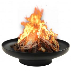 Vatră de foc, 59 cm, oțel