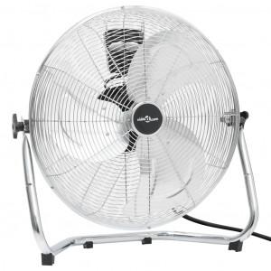 Ventilator de podea, 3 viteze, 55 cm, 100 W, crom